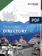 PetroEdge Training Directory