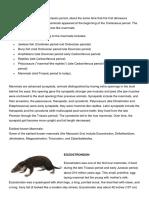 The Evolution of Mammals (Autoguardado)