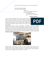 Contoh Proposal Bantuan Unit Pengolah Pupuk Organik