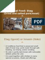 Traditional Food Etag