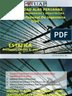 Estatica Clase 09 Analisis Estructural (Armaduras) Metodo de Secciones Uap