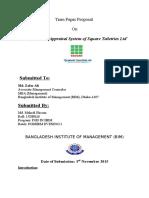 Mahedi Hassan Term Paper
