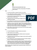 Lineamientos Para Creacion de Foro y Blog