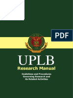 Up Lb Research Manual 2008