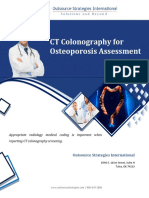 CT Colonography for Osteoporosis Assessment