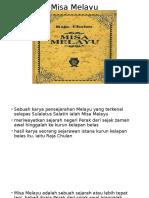 Pembentangan Misa Melayu