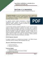 Capacidades y Habilidades de Un Ingeniero Industrial