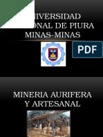 Mineria Aurifera y Artesanal
