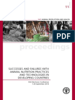 2010 FAO Animal Nutrition Successes and Failures