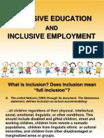 3 Inclusive Education