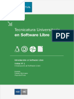 Tecnicatura Universitaria en Software libre