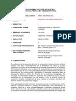 CURSO ETICA PROFESIONAL