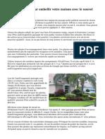 Conseils faciles pour embellir votre maison avec le nouvel aménagement