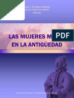 Representaciones Menstruacion Mujeres Mayas Antiguedad 2011