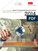 Global Talent Competitiveness Index Report 2014