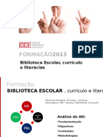 Biblioteca Escolar Curriculo Literacias 1