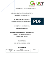 Reporte de Practica U1 Instalación de ERP Odoo