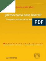 Democracia Postliberal El Espacio Político de las Asociaciones