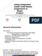Promoting Integrated Sustainable Solid Waste Management in Nepal