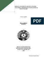 Analisis Statik Dan Dinamik Struktur Beton Dengan Sni 2002