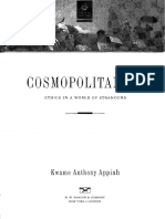 cosmopoltanism ethics in a world strangers kwane anthony appiah