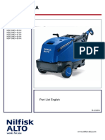 Alto Nilfisk Neptune 4-50 FA Parts Catalogue
