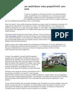 Conseils simples pour améliorer votre propriété avec nouvel aménagement