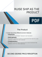 Cruise Ship as the Product