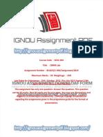 BCSL-034 Solved Assignment 2015-16 _ignouassignmentpdf.blogspot.com-2