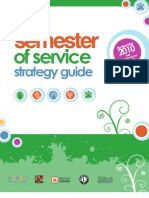 Semester of Service Strategy Guide