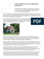« Conseils simples pour améliorer votre propriété avec nouvel aménagement »