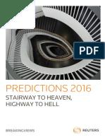 Reuters Prediction 2016