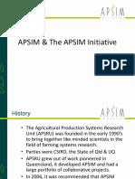 APSIM Overview