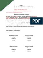 ANEXO 57 - P23 - Termo de Recebimento Definitivo