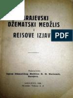 Sarajevski džematski medžlis i Reisove izjave (1928) 1