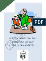 BOLETÍN TRIM Nº 2 CEIP Gloria Fuertes