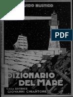 Dizionario Del Mare