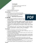 SAP for Hospitals