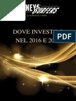 Dove Investire Nel 2016 e 2017