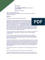 Feliciano v Dir of Patent