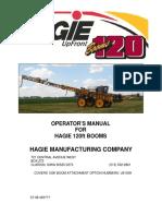 120' Boom Operators Manual 2009
