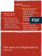 S4 Lessons Wars of Independence
