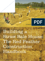 Building a Straw Bale House Red Feather