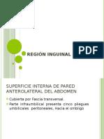 Anatomia de Region Inguinal