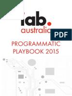 IAB Australia Programmatic 2015