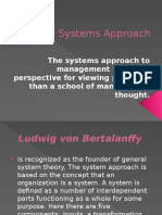 The Systems Approach (1)