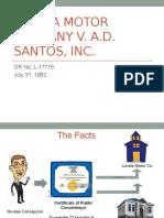 Luneta Motors v. AD Santos