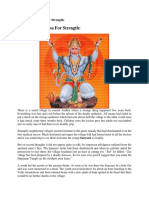 Hanuman Sadhana for Strength