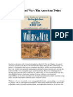 Journalism and War