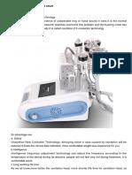 Unoisetion Cavitation 2.0 3d Smart Rf Vacuum Photon 8 Lipo Laser Lllt Slimming